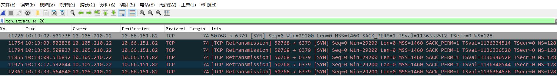 linux中tcpdump的详细用法