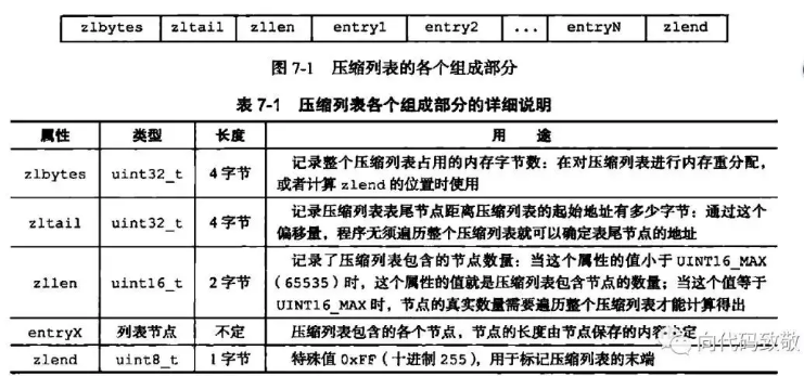 redis中压缩列表ziplist的使用